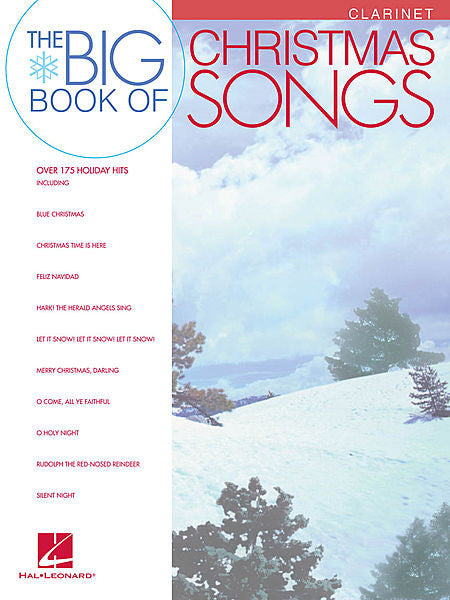 Big Book of Christmas Songs for Clarinet Instrumental Folio