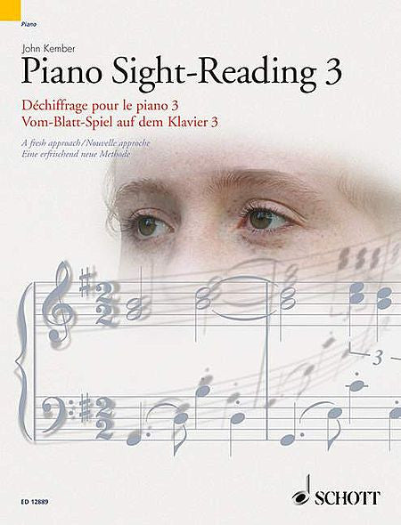 Kember, John - Piano Sight-Reading, Volume 3 - A Fresh Approach based on self-learning and the recognition of rhythmic and melodic patterns - Piano Method Series*