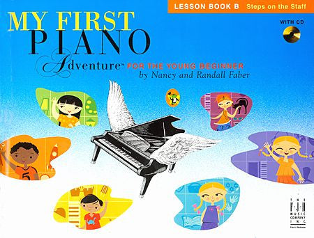 My First Piano Adventure Lesson Book B with CD Faber Piano Adventures Lesson Book B with CD