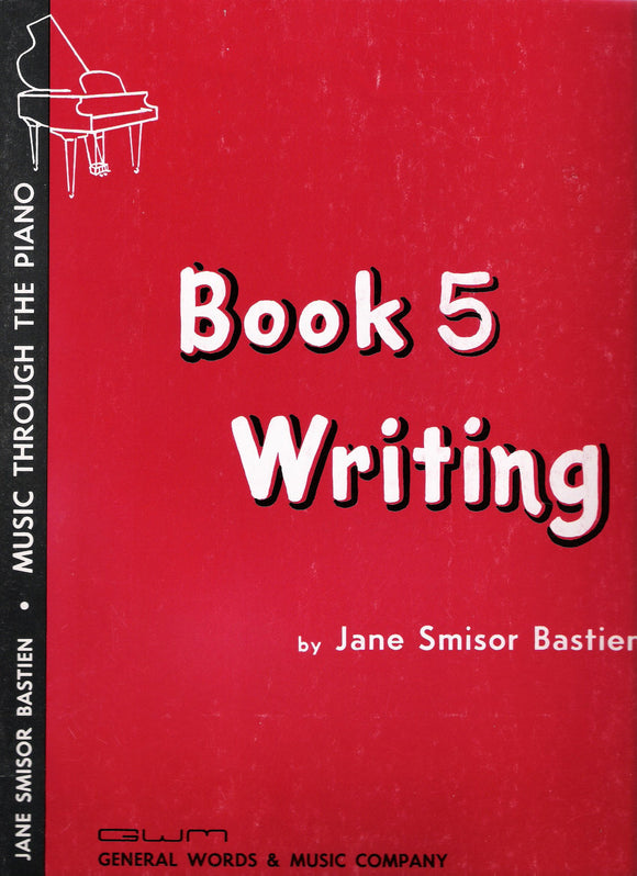 Writing Book 5 - Jane Bastien