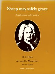 Bach - Sheep May Safely Graze arr. Mary Howe - Early Advanced - Piano Ensemble (2 Pianos 4 Hands)