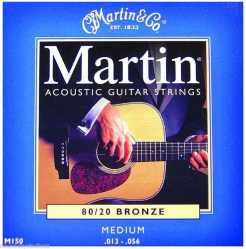 MARTIN ACOUSTIC GUITAR STRING SET, MEDIUM