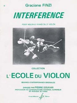 Finzi, Graciane - Interference - Violin & Piano (or 2 Violins)