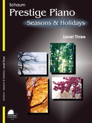 Seasons & Holidays, Level 3 arr. John Revezoulis ed. Jeff Schaum - Early Intermediate - Piano Solo Collection*