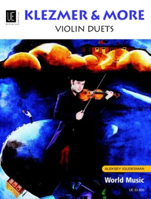 Igudesman, Aleksey - Klezmer & More - Violin Ensemble Duet: Two (2) Violins - Score Only