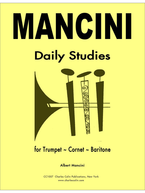 Albert Mancini - Daily Studies for Trumpet
