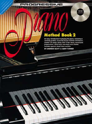 Turner, Gary / Scott, Andrew - Progressive Piano Method, Book 2 - Piano Method Series w/CD*