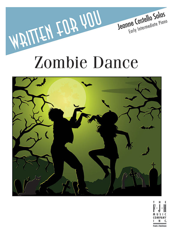 Halloween - Costello, Jeanne - Zombie Dance - Early Intermediate - Piano Solo Sheet
