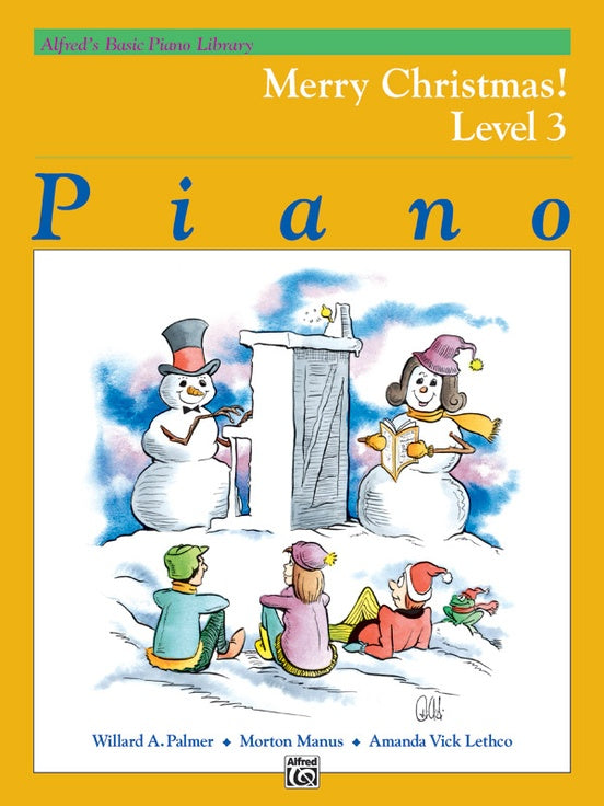 XMAS - Alfred's Basic Piano Library: Merry Christmas! Book 3 - Piano Solo Collection