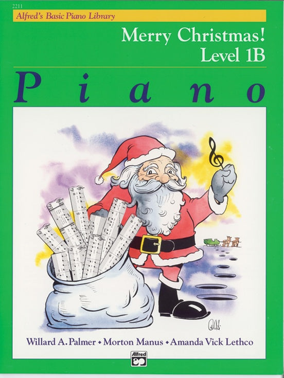 XMAS - Alfred's Basic Piano Library: Merry Christmas! Book 1B - Piano Solo Collection