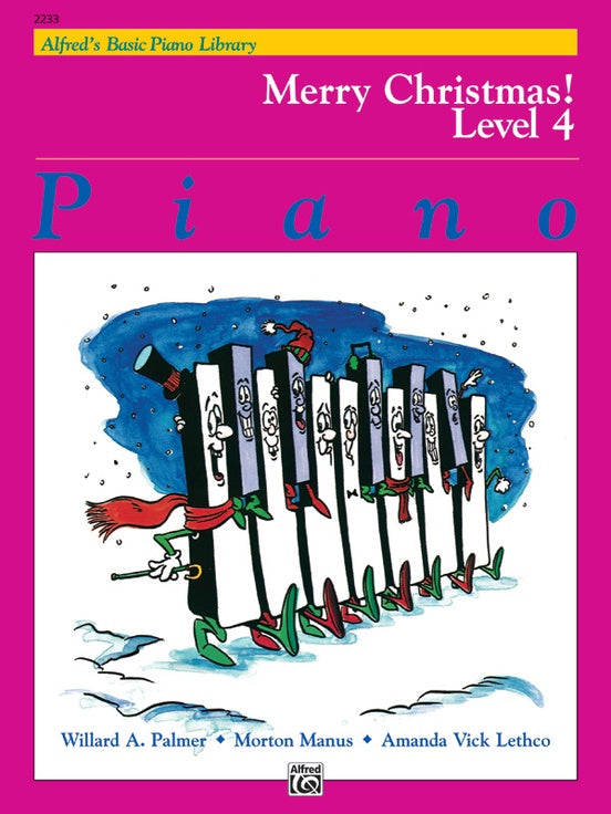 XMAS - Alfred's Basic Piano Library: Merry Christmas! Book 4 - Piano Solo Collection