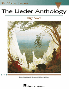 The Lieder Anthology - Accompaniment CDs The Vocal Library High Voice Vocal Collection High Voice, 2 CDs
