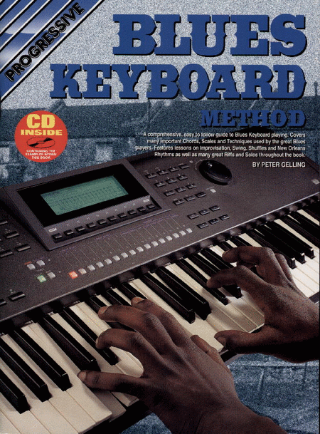 Gelling, Peter - Progressive Blues Keyboard Method - Piano Method Volume w/CD*