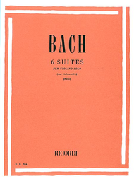 Bach - Six (6) Cello Suites arr. Enrico Polo - Violin Solo