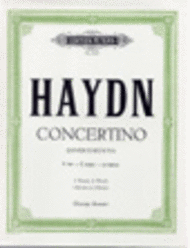 Haydn, Joseph - Concertino in C Major (Divertimento), Hob XIV/3 arr. George Anson - Piano Ensemble (2 Pianos 4 Hands)