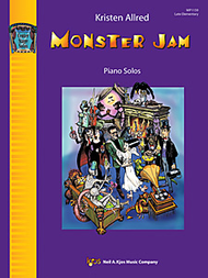 Halloween - Allred, Kristen - Monster Jam - Eight (8) Original Late Elementary Solos - Piano Solo