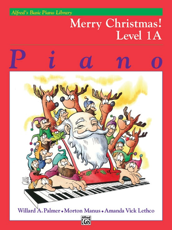 XMAS - Alfred's Basic Piano Library: Merry Christmas! Book 1A - Piano Solo Collection