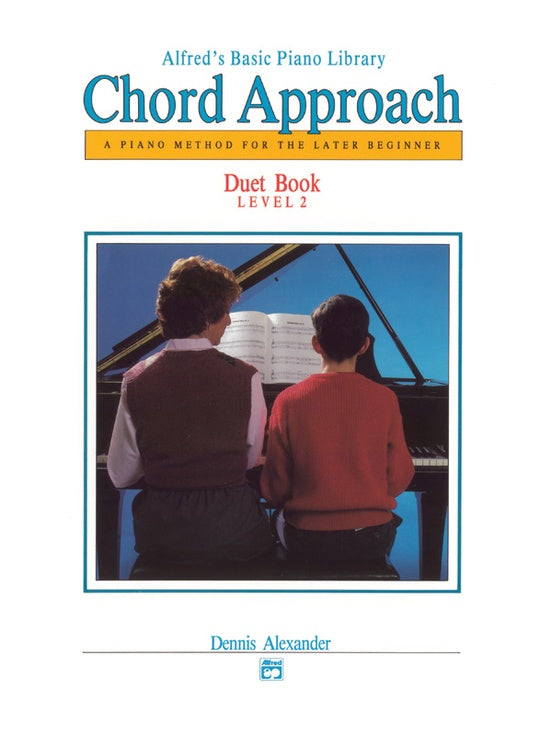 Alfred's Basic Piano Library - Chord Approach for the Late Beginner - Duet Book Level 2 - Piano Duet (1 Piano 4 Hands)
