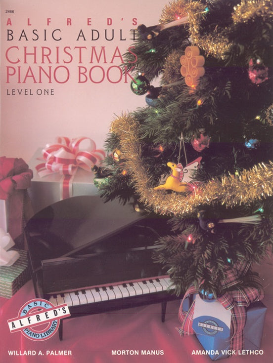 XMAS - Alfred's Basic Adult Piano Course - Christmas Piano, Book 1 - Piano Solo Collection