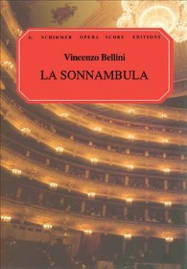 Bellini, Vincenzo - La Sonnambula - Opera Vocal Score (Italian / English)