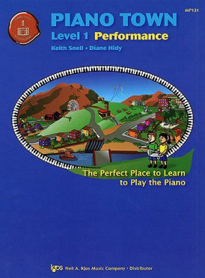 Piano Town: Performance, Level 1 - Piano Method Series*