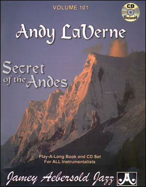 Aebersold Volume 101 - Secret Of The Andes - Andy LaVerne Tunes Bk/CD