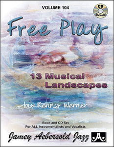 Aebersold Volume 104 - Free Play, Kenny Werner Bk/CD