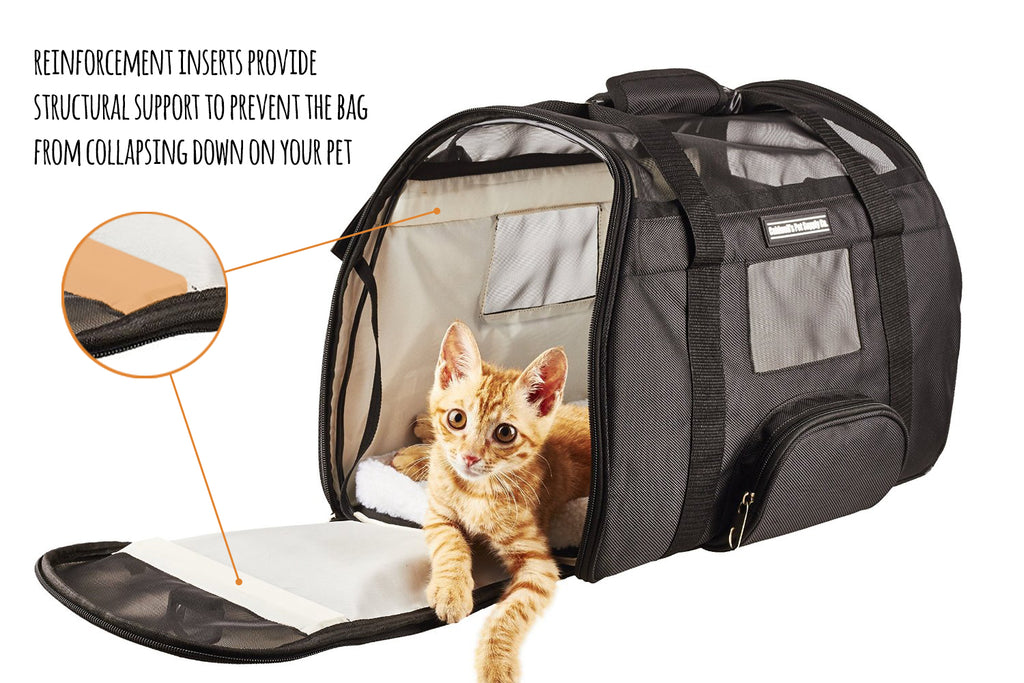 Airline Pet Carrier Under Seat Travel Bag By Caldwell S