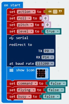 Hacking Tello with microbit-worksheet 3 – 65Drones