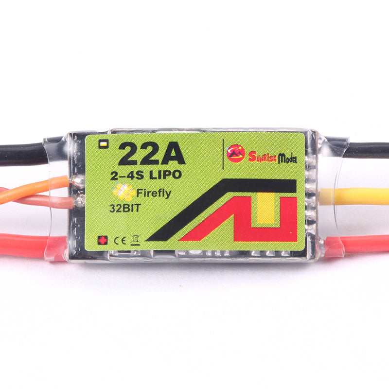 Sunrise FireFly 32bit Lite ESC (Supports Dshot, with passthrough and anti-desync, motor reverse)