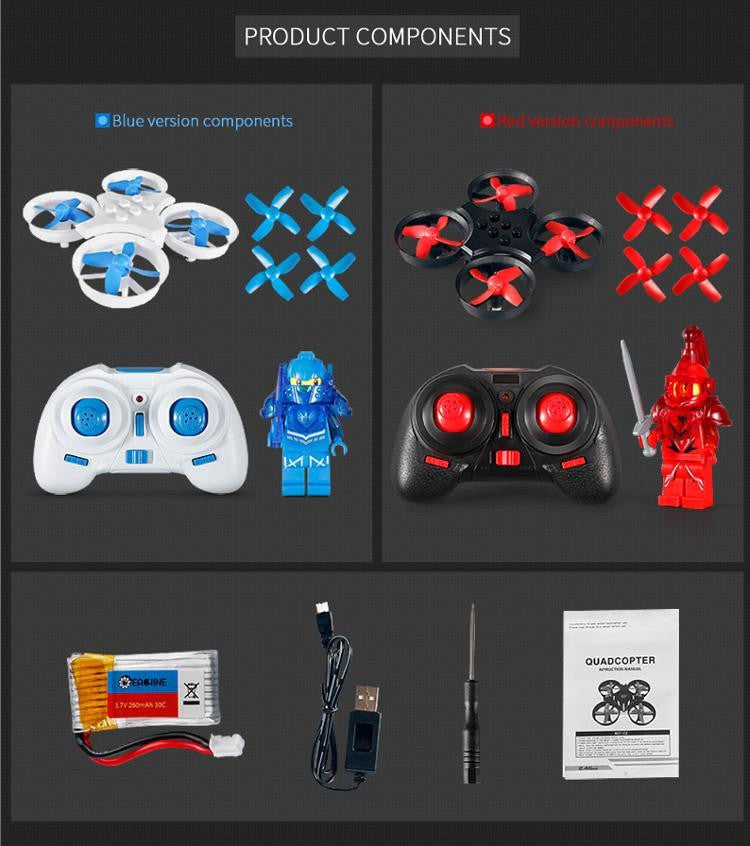 E011 block drone/ Build your own drone kit
