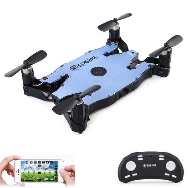 E57-WiFi FPV Selfie Drone With 720P HD Camera Auto Foldable Arm Altitude Hold RC Quadcopter