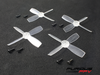 FuriousFPV High Performance 1935 Propellers (Total 16 propellers)