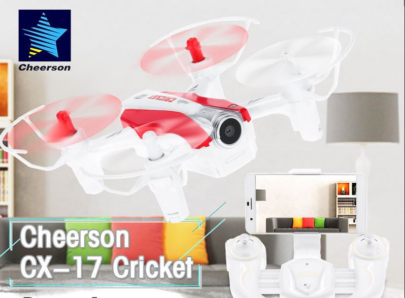 CX17 wifi fpv selfie drone with altitude hold