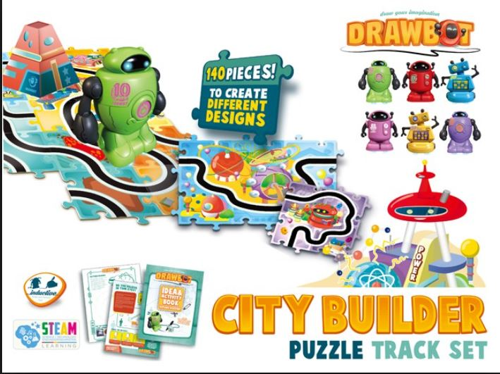 Drawbot City Builder