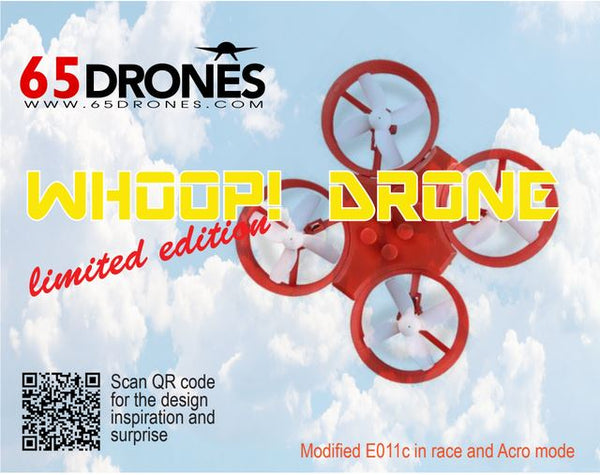 65drones Whoop! - modified E011c in race and acro mode