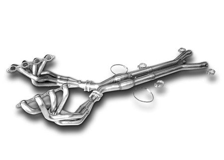 "C6 Z06 CORVETTE HEADERS, American Racing, 1.875""-3"" X PIPE NO CATS"
