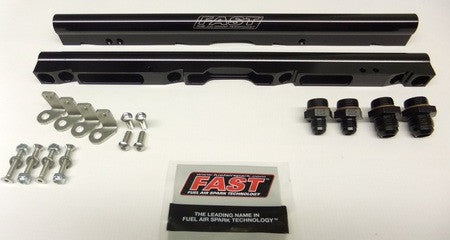 FAST LSX Black Billet Fuel Rail