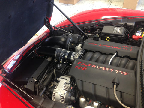 C6 LS3 EastCoast Supercharging Paxton 1500 kit