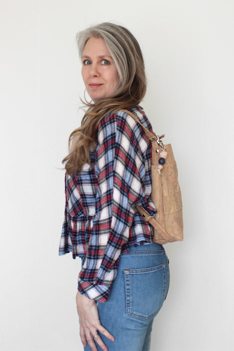 Convertible Backpack (21 fabric choices)