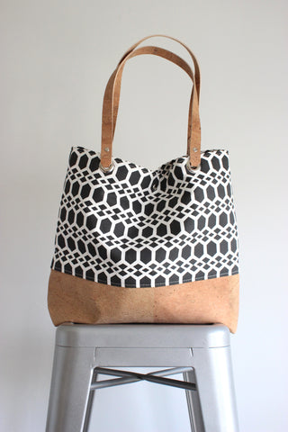 Large Tote Bag  (8 fabric choices)