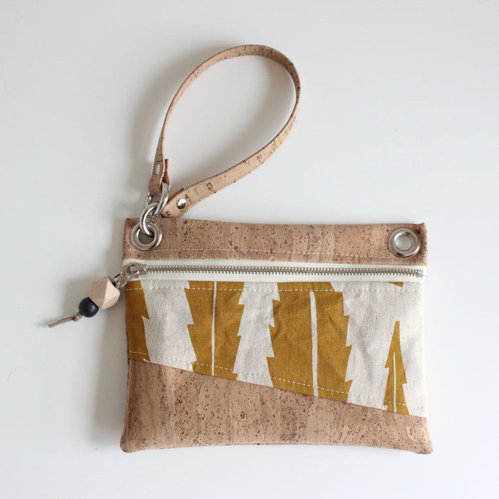 Mini Grommet Convertible Bag in Banksia Leaf Yellow Ocher