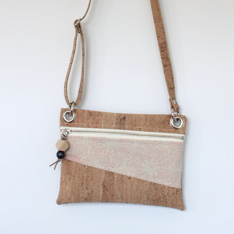 Mini Grommet Convertible Bag in Ficus Blush Pink