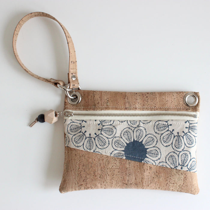 Mini Grommet Convertible Bag in Ficus Indigo
