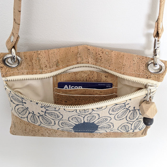 Mini Grommet Convertible Bag (13 fabric choices, 2 all cork choices)