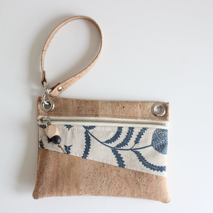Mini Grommet Convertible Bag in Sawtooth Banksia Indigo
