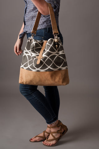 Large Grommet Bag (8 fabric choices)