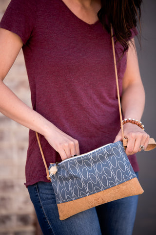 Clutch with Strap (8 fabric choices)