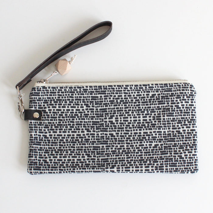 Small Clutch Brick Black w/ Black Cork
