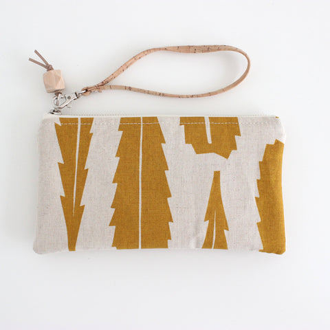The Small Clutch in Banksia Yellow Ocher